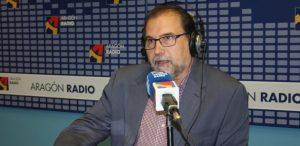 Paco Ortíz Remacha en un momento de uno de sus programas.