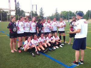 El equipo femenino completó una buena participación a pesar de no haber podido conseguir ninguna medalla
