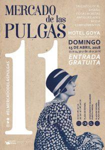 Cartel de la próxima edición del Mercado de las Pulgas. Fuente: el Mercado de las Pulgas