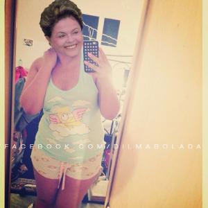 Fotografía del Facebook de Dilma Bolada