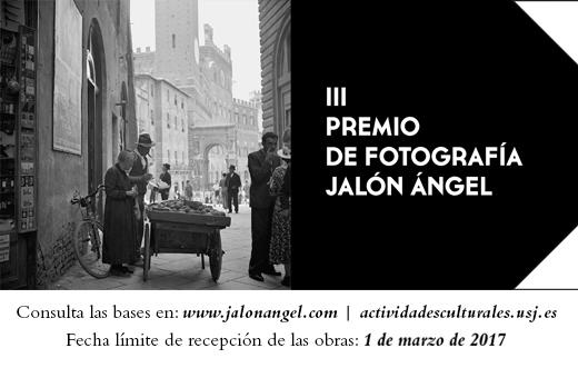 III Premio fotografia Jalón Ángel Territorio USJ