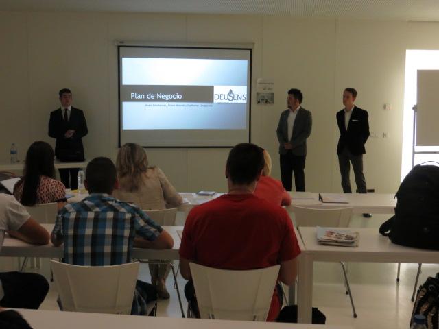 Presentación del proyecto de Deusens.