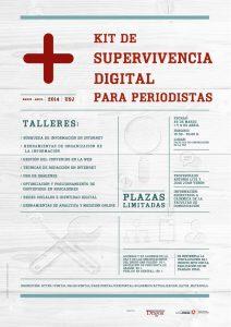 cartel kit de supervivencia para periodistas