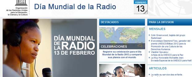 Página web de la UNESCO