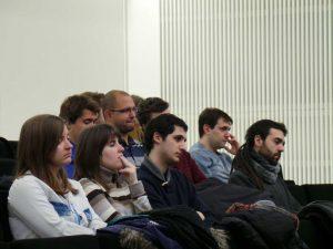 Representantes de los alumnos de la Universidad San Jorge participaron activamente en la jornada de la ACPUA.