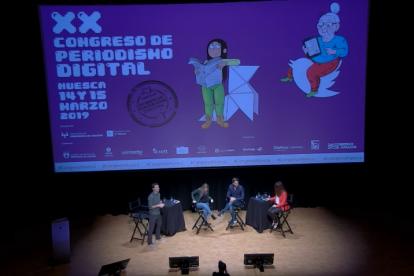 Congreso de periodismo en Huesca