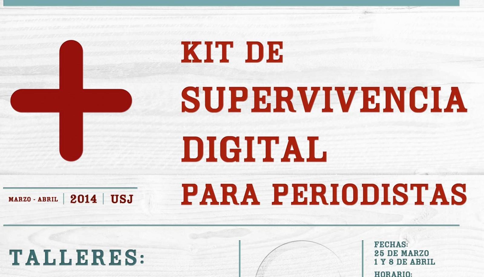 Kit de supervivencia digital para periodistas