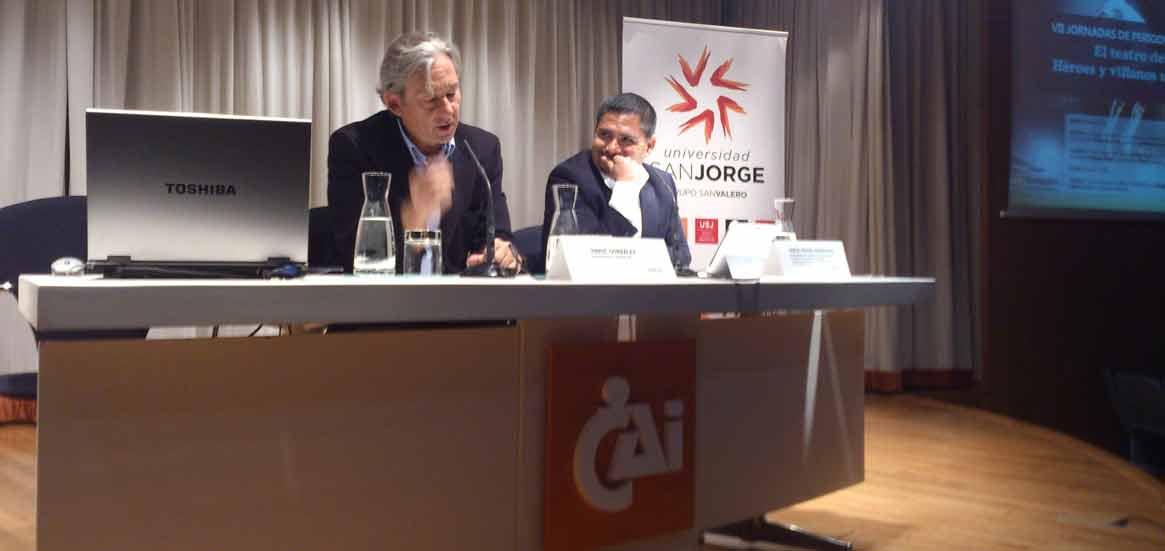 Enric González y Jorge Rodríguez (derecha) abrieron las jornadas.